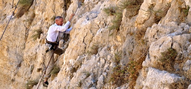 Although the rock climbing community in Israel is small, its voice is strong.