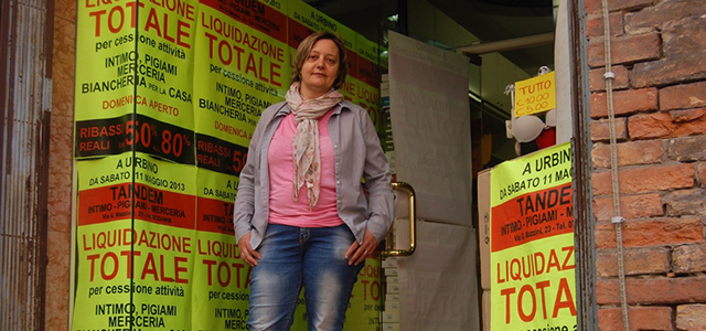 An upbeat pop song blasts from the speakers, echoing through the empty space. At Consorzio Centro Commerciale, the new mall located directly beneath the walls of Urbino, it is 11:15 a.m. on a Saturday—prime time for shopping. Yet the mall is nearly empty.