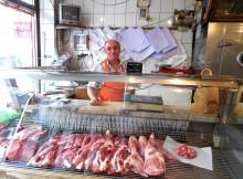 Dogan Dera, owner of the Dogan Et Tavuk Butcher Shop, in his store. Photo by Stephanie Henkel