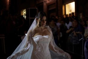 Atelier Cardelli's bridal fashions took the stage at the finale.