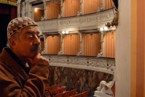 Manager of Shakespeare in Italy, Sandro Pascucci, shares his knowledge and experience at Cagli's Teatro Comunale.